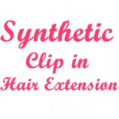 Synthetic Clip in Hair Extension (0)