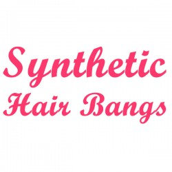 Synthetic Hair Bangs