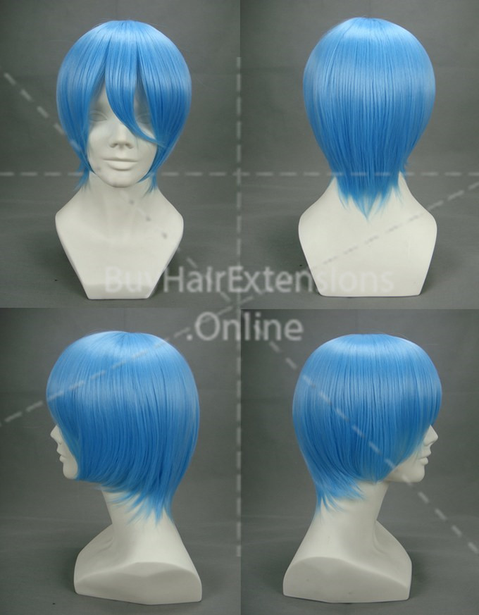 Eva Rei·ayanami Light Blue Anime Cosplay Wig Many Roles Available COS-001o